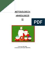 19036204 Medotologija Arheologije II Predavanja