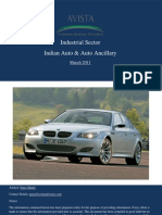 Indian Auto Ancillary Industry March 2011