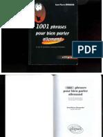 J-P. Demarche - 1001 Phrases Pour Bien Parler Allemand(1)