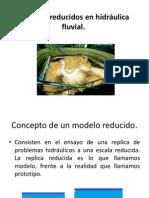Modelos reducidos en hidráulica fluvial 1