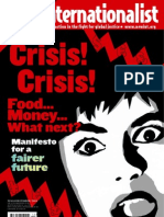 New Internationalist Magazine 418 - Crisis! Crisis! Food.. Money.. What next?