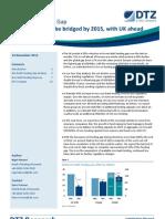 DTZ Net Debt Funding Gap Nov 12