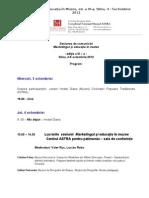 Program Sesiune Sibiu 4-5 Octombrie 2012 - Modif Ovid 27.09H19.37