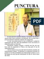 Acupunctura - Stiinta și cunoastere