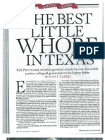 Rick Perry - Best Little Whore in Texas