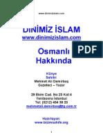 Mehmet Ali Demirbaş- Osmanli_Hakkinda