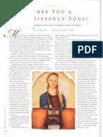 Are you a Renaissance Soul?