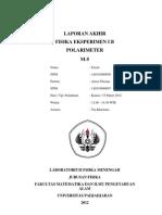 LAPORAN AKHIR POLARIMETER_1