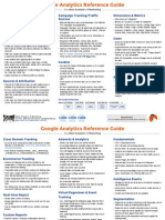 Blast Google Analytics Reference Guide