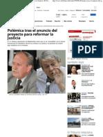 2013-03-03 Polémica tras el anuncio del proyecto para reformar la Justicia _ El Tribuno Salta