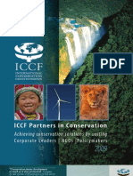 2009 ICCF Partners in Conservation Brochure