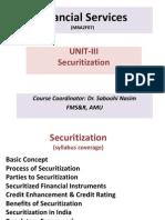 Unit III Securitization