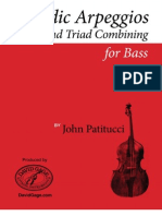 Melodic Arpeggios and Triad Combining for Bass