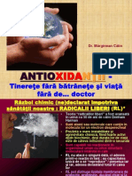 Antioxidanti alimentatie