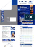 Flyer Application Cement