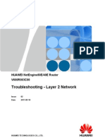 Troubleshooting - Layer 2 Network(V600R003C00_02)