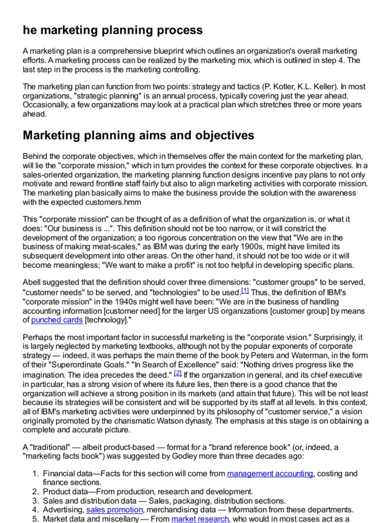 He marketing planning process a marketing plan is a comprehensive he marketing planning process a marketing plan is a comprehensive blueprint which outlines an organizations overall marketing efforts malvernweather Choice Image