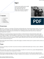 Mirroring (Psychology) - Wikipedia the Free Encyclopedia