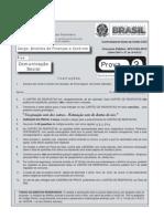 ===(2 16) Esaf 2012 Cgu Analista de Financas e Controle Prova 3 Comunicacao Social Prova