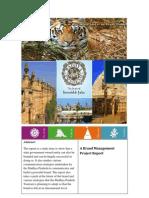 Madhya Pradesh Tourism Brand Analysis