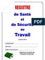 Registre Sante Securite