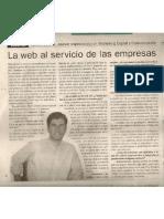 La web al servicio de las empresas