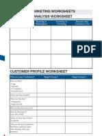 Competitor Analisis Worksheet
