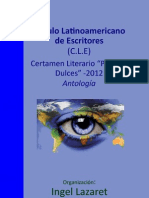 Ingel Lazaret - Circulo Latinoamericano de Escritores - Tahiel Ediciones 2013