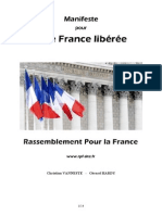 Manifeste du Rassemblement Pour la France