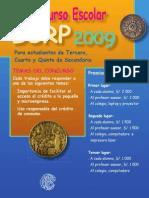Concurso Escolar 2009 Bases