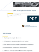 Structuring Ddebt-financing-for-infrastructure-projectsebt Financing for Infrastructure Projects