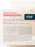 PBBANK-2012 Letter to Stakeholders