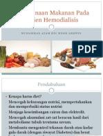 Perencanaan Makanan Pada Pasien Hemodialisis
