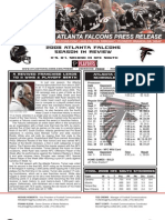 Atlanta Falcons 2008 Season in Review