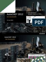 Nouveautés_AutoCAD_2012