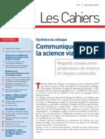 Communiquer la science via internet - Cahiers N°8 -  Décembre 2012