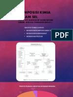 Komposisi Kimia Dalam Sel-biologi