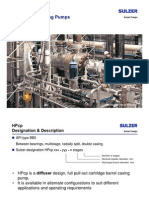 Barrel Casing Type Boiler Feed Pump - SUZLON