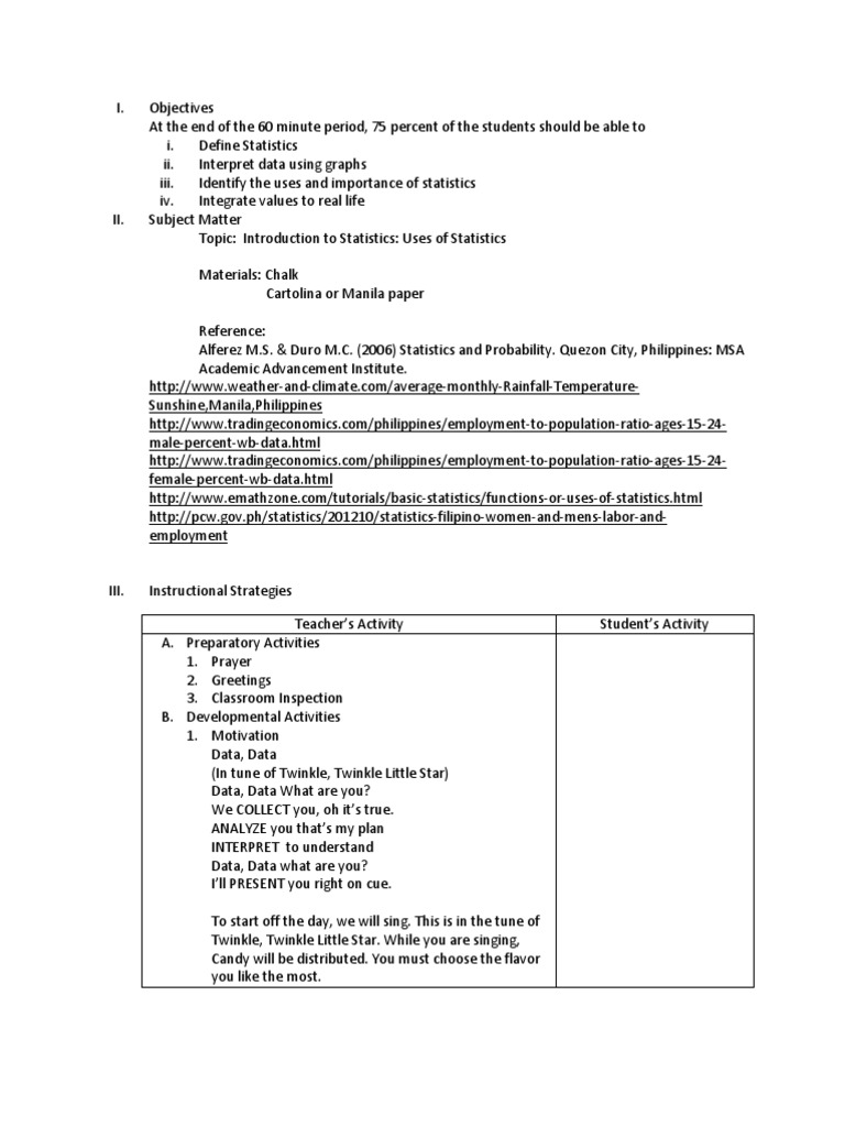 detailed lesson plan in values