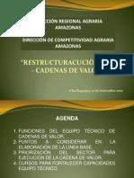Restructuracion Dca-cadenas Valor