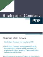 Birch Paper Company Finalllll