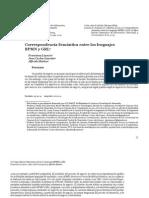 1.- Correspondencia Semántica entre los lenguajes PBMN y GRL