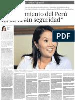 Keiko El Comercio 03032012