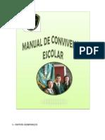 Manual de Convivencia Escolar 01.10.12