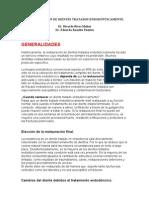 RECONSTRUCCIÓN DE DIENTES TRATADOS ENDODÓNTICAMENTE