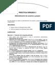Práctica dirigida 3 - Administración de usuarios y grupos
