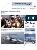 Benetti Unveils Future Design Project at Monaco