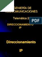 1 - 4 Direccionamiento IP