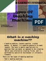 types of washing machines