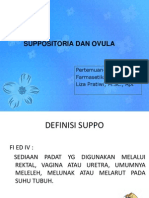 P-6 Suppositoria Dan Ovula